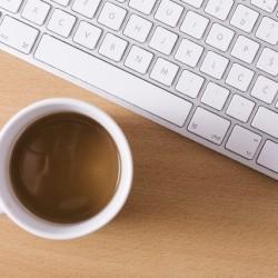 パソコンコーヒー